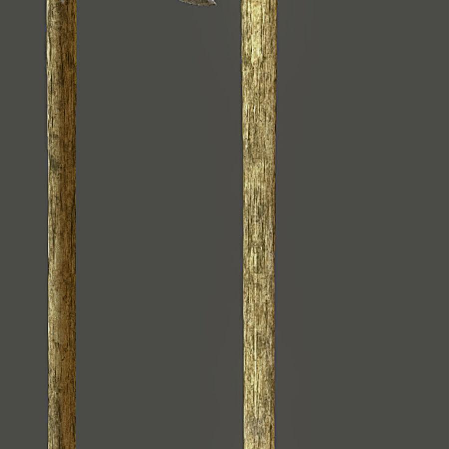 Greek Hoplite Axe and Pick Set royalty-free 3d model - Preview no. 4