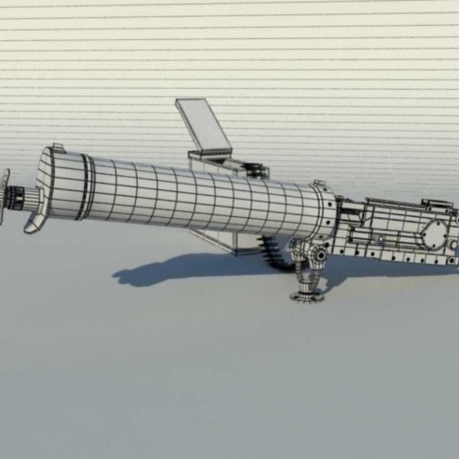 Maxim Gun royalty-free 3d model - Preview no. 2