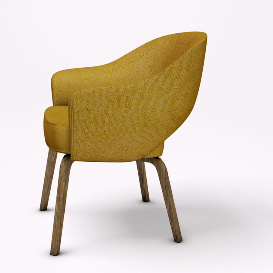Knoll Saarinen Armchair Royalty Free 3d Model Preview No 3