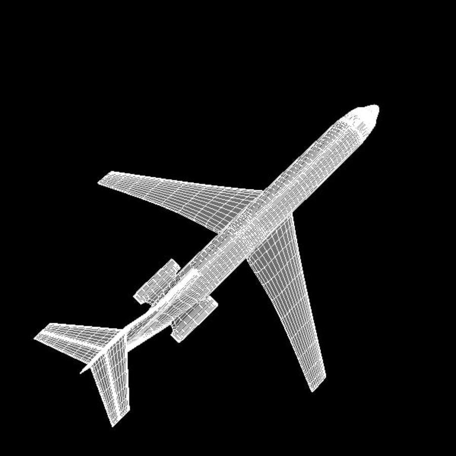 Samolot royalty-free 3d model - Preview no. 9