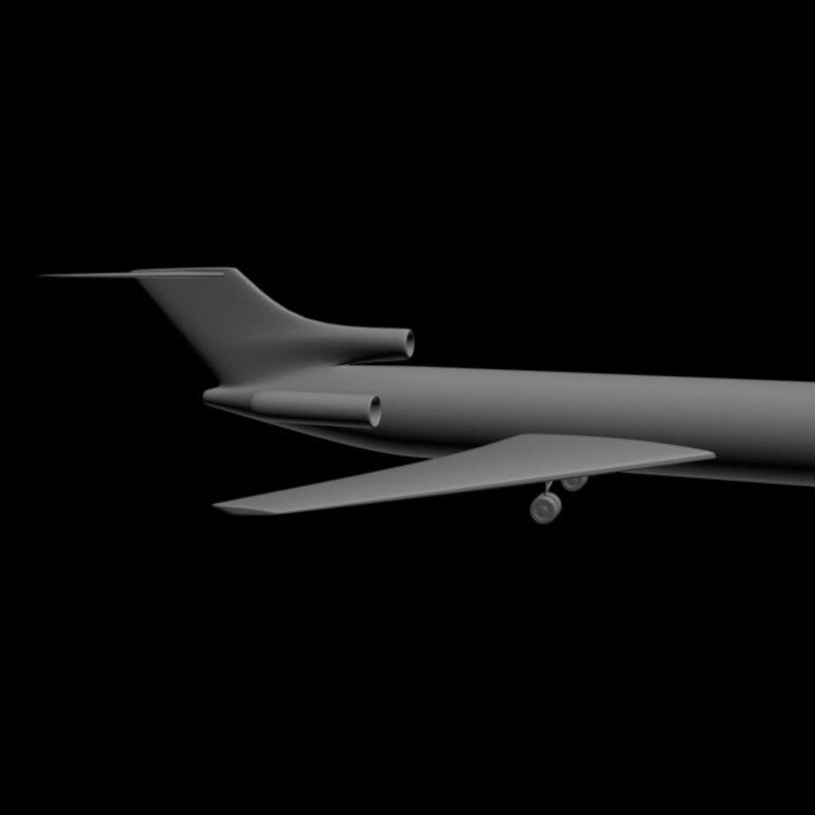 Samolot royalty-free 3d model - Preview no. 7