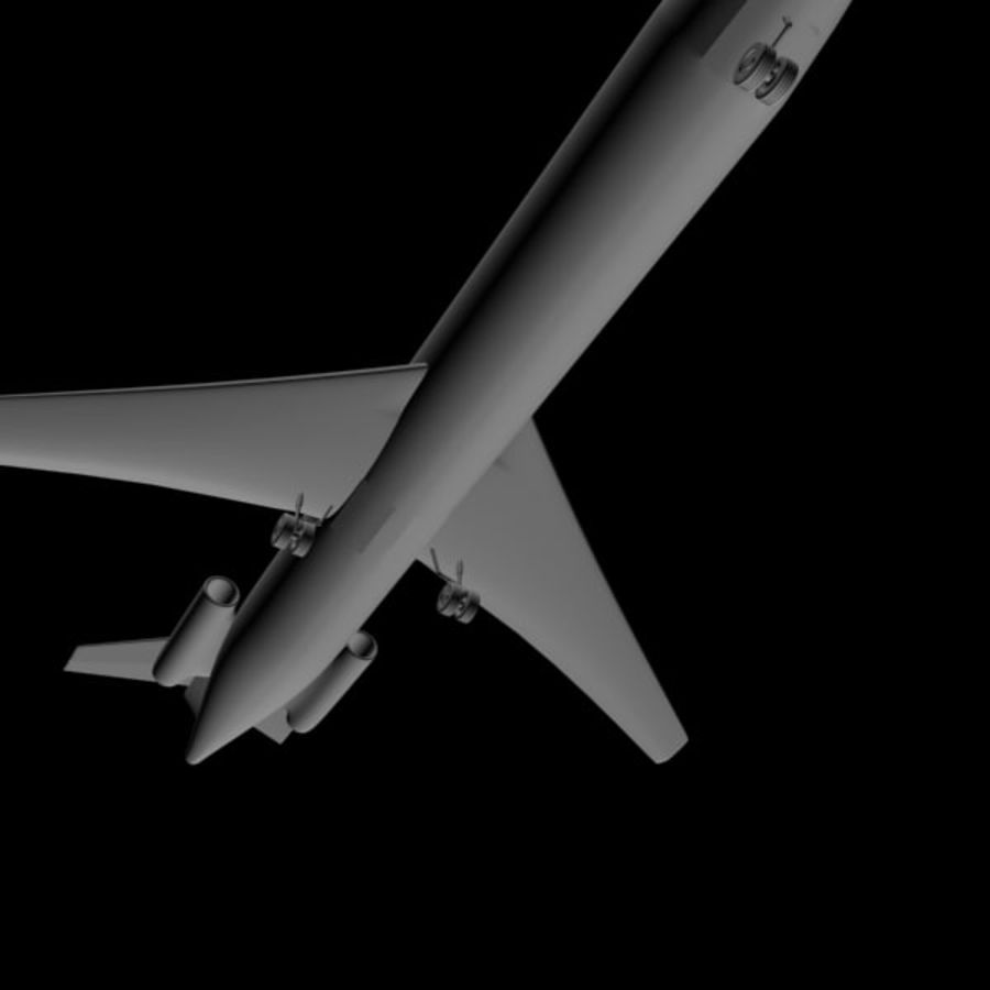 Samolot royalty-free 3d model - Preview no. 6