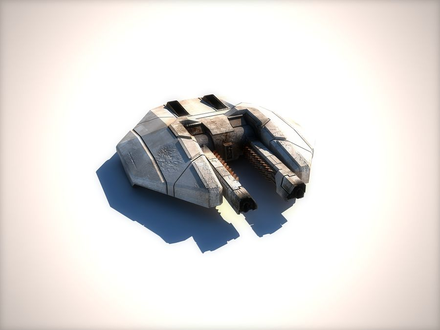 ion-cannon royalty-free 3d model - Preview no. 1