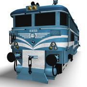 Motore del treno 3d model