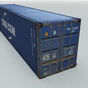 화물 운송 컨테이너 3d model