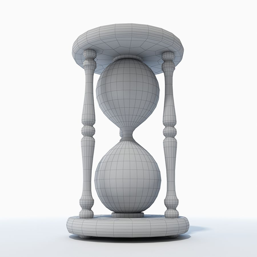 Hourglass royalty-free 3d model - Preview no. 9