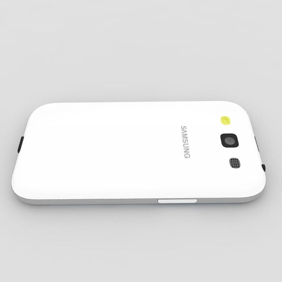 Samsung Galaxy S3 royalty-free 3d model - Preview no. 3