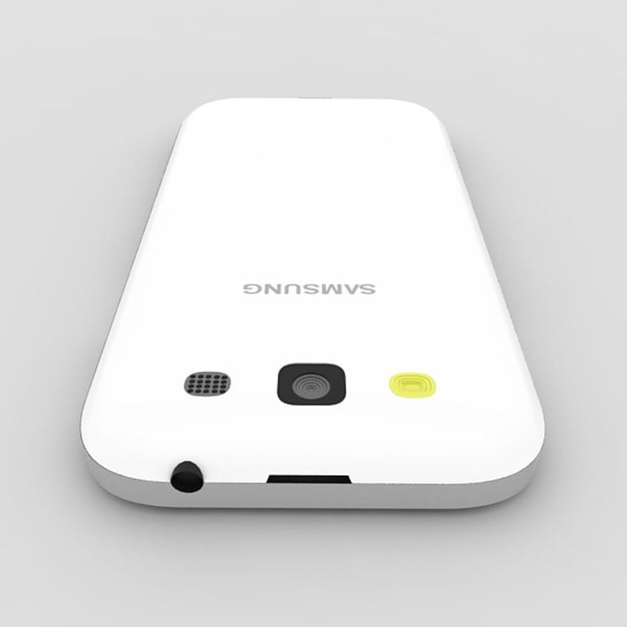 Samsung Galaxy S3 royalty-free 3d model - Preview no. 4
