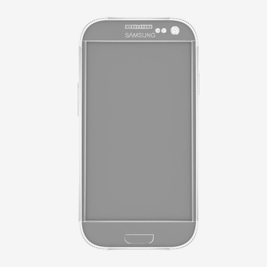 Samsung Galaxy S3 royalty-free 3d model - Preview no. 6