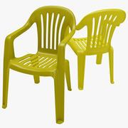 Monobloc Chair 1 3d model