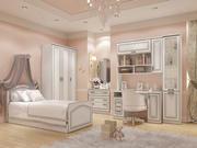 Furniture for nursery Malvina 3d model