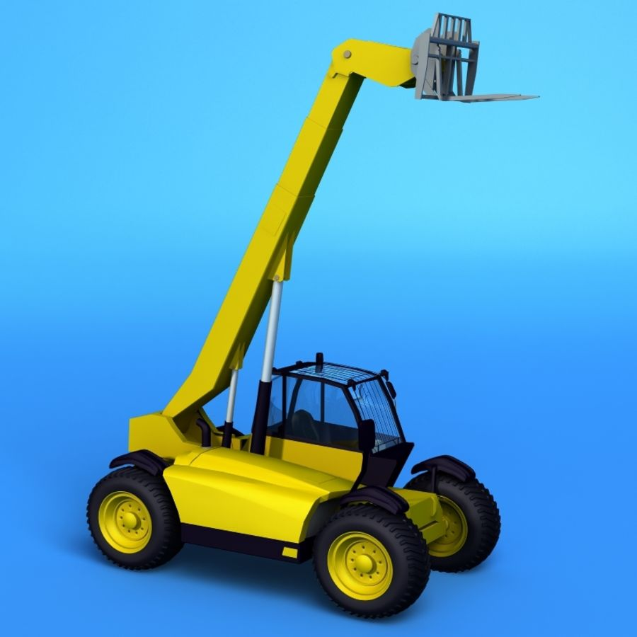 Crane Vehicle royalty-free 3d model - Preview no. 2