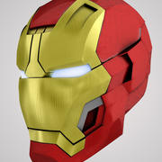 Iron Man 3 (Mark 42) - 2013 3d model
