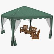 Garden Party Canopy 3d model