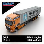 DAF XF 2013 3d model