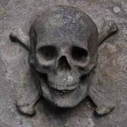 Skull Relief 3d model