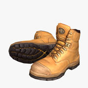 Steelcap Safety Boots 3d model