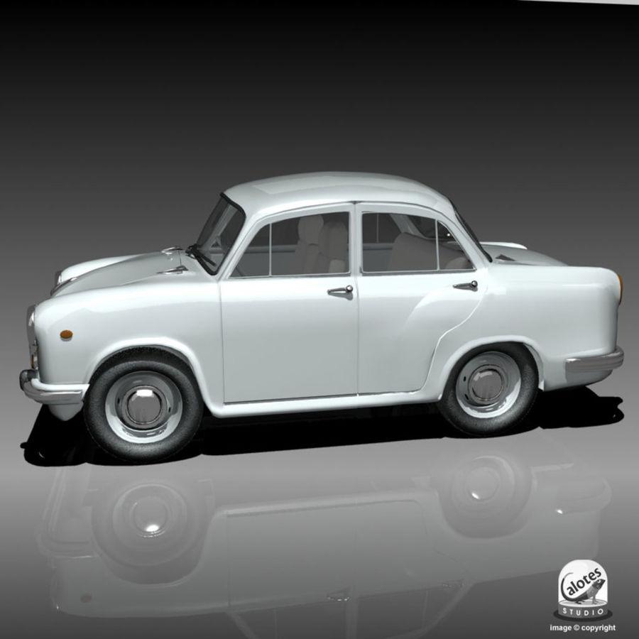 Ambassador Car royalty-free 3d model - Preview no. 2