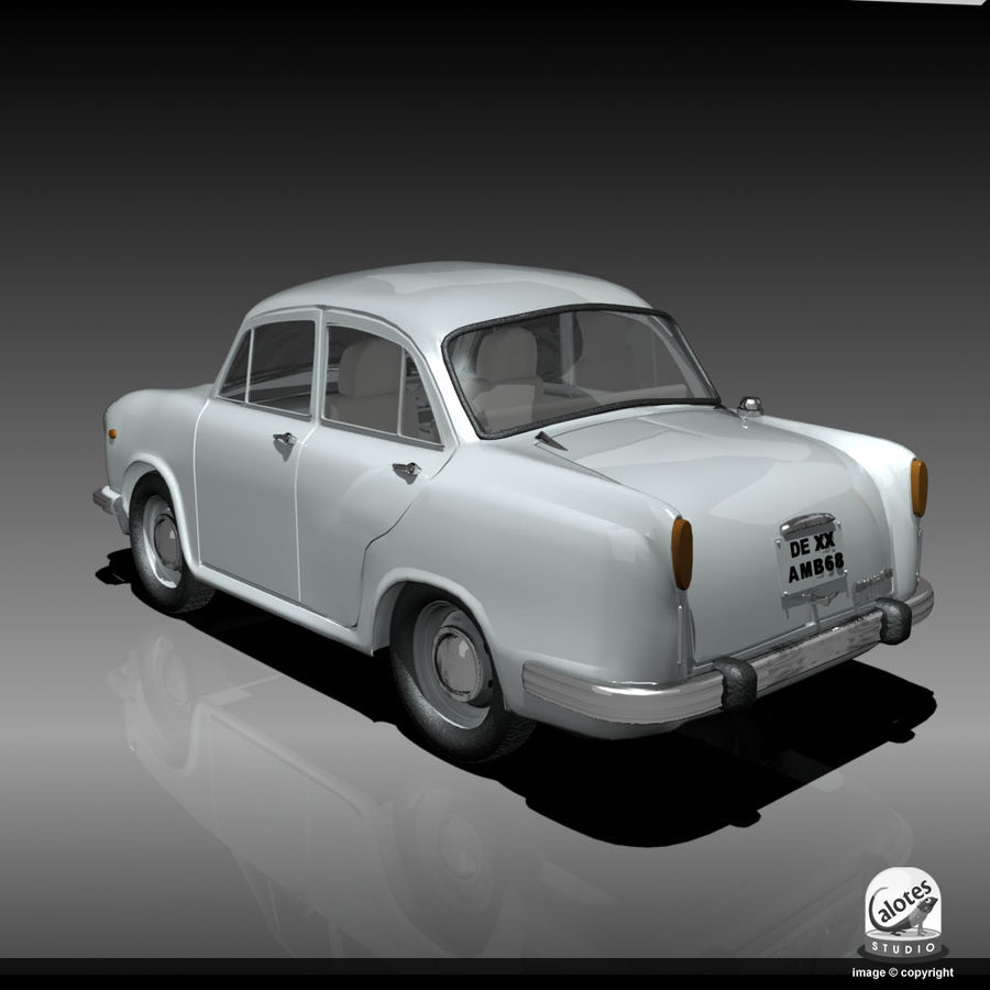 Посол автомобиль royalty-free 3d model - Preview no. 3
