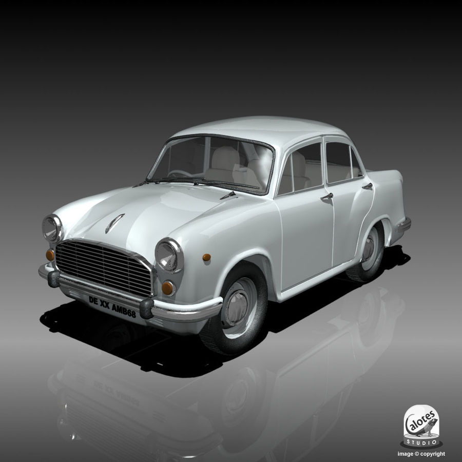 Посол автомобиль royalty-free 3d model - Preview no. 1