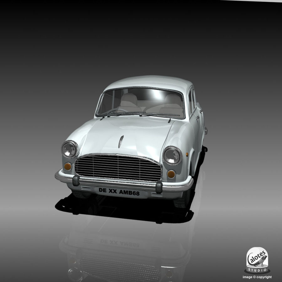 Посол автомобиль royalty-free 3d model - Preview no. 5