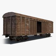 грузовой вагон 3d model