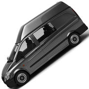 mercedes vito van 3d model