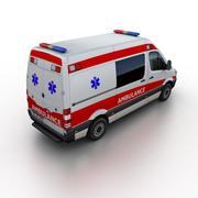 Mercedes-Benz Sprinter Ambulansı 2014 3d model