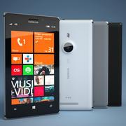 Nokia Lumia 925 Smartphone 3d model