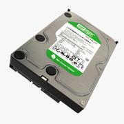 Sabit Disk Western Digital 3d model