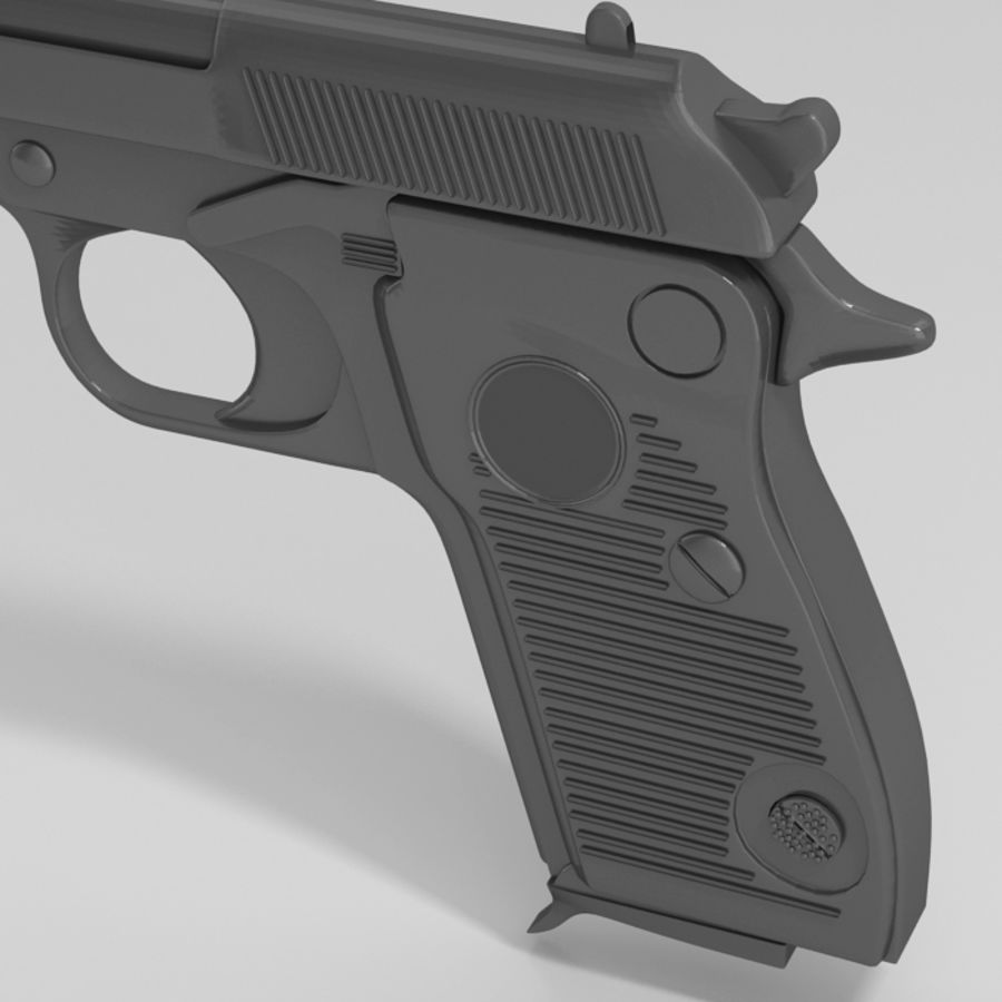 Gun royalty-free 3d model - Preview no. 4
