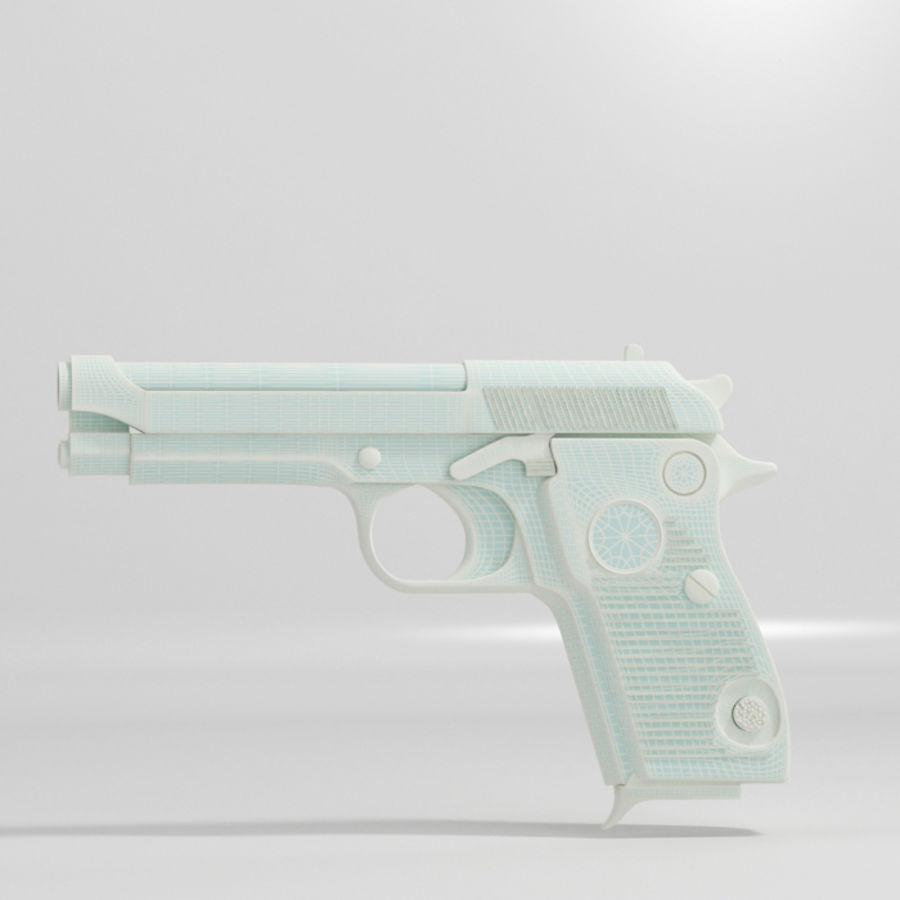 Gun royalty-free 3d model - Preview no. 5