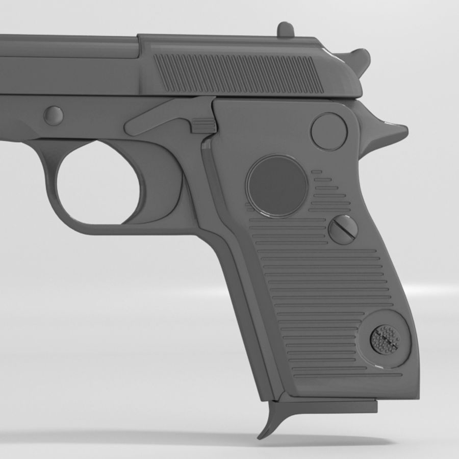 Gun royalty-free 3d model - Preview no. 3