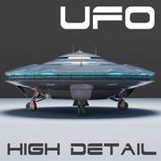 宇宙飞船UFO 3D模型 3d model