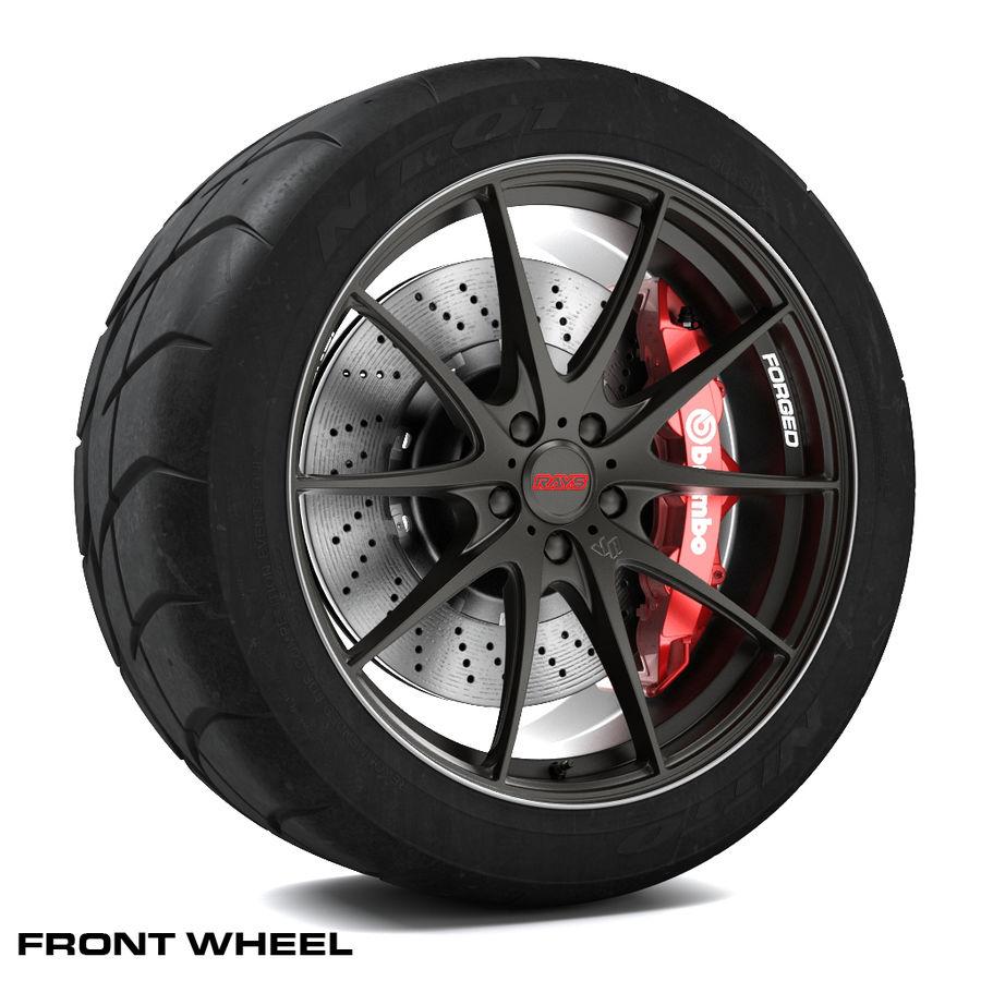 Volk Racing G25 royalty-free 3d model - Preview no. 2
