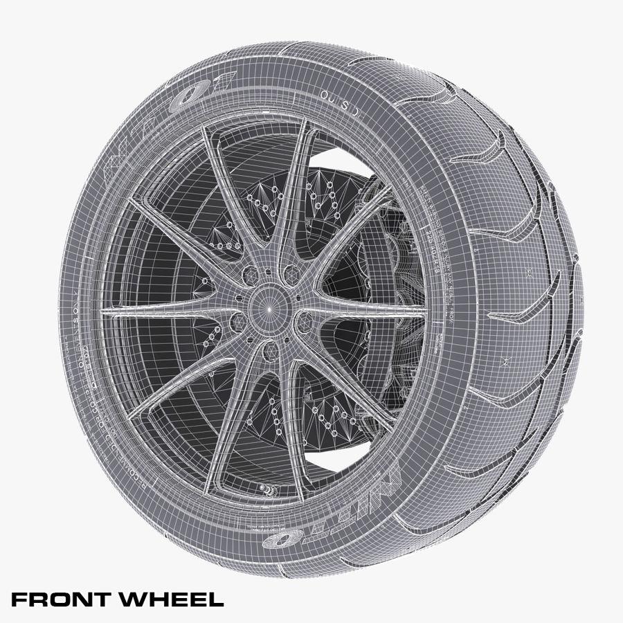 Volk Racing G25 royalty-free 3d model - Preview no. 14