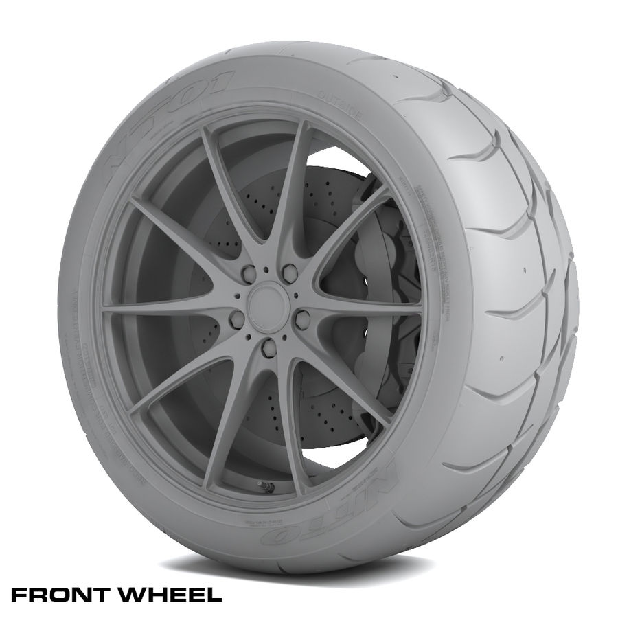 Volk Racing G25 royalty-free 3d model - Preview no. 10