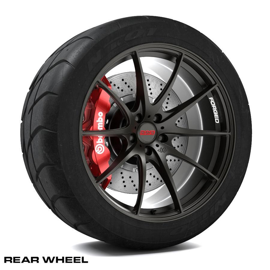 Volk Racing G25 royalty-free 3d model - Preview no. 3