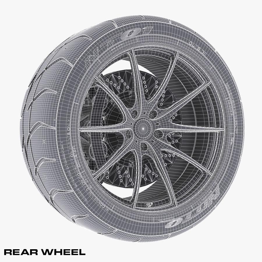 Volk Racing G25 royalty-free 3d model - Preview no. 13