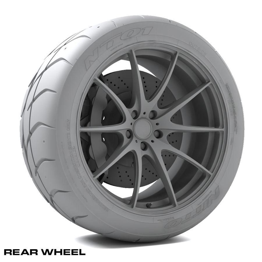 Volk Racing G25 royalty-free 3d model - Preview no. 9