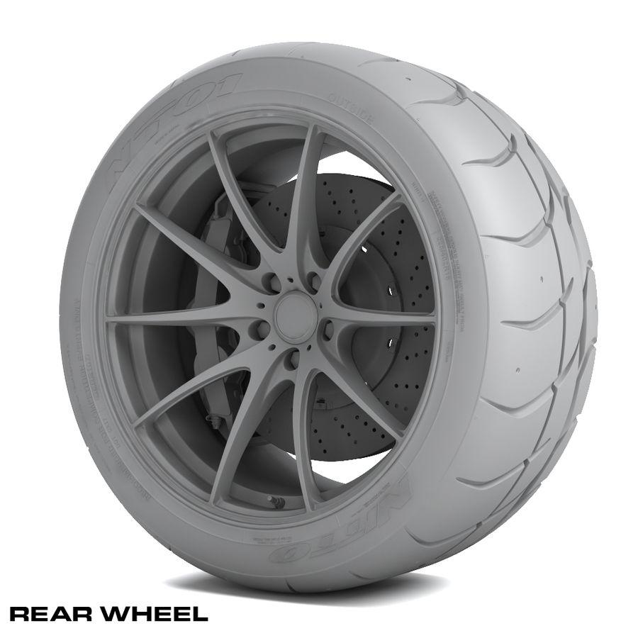 Volk Racing G25 royalty-free 3d model - Preview no. 11