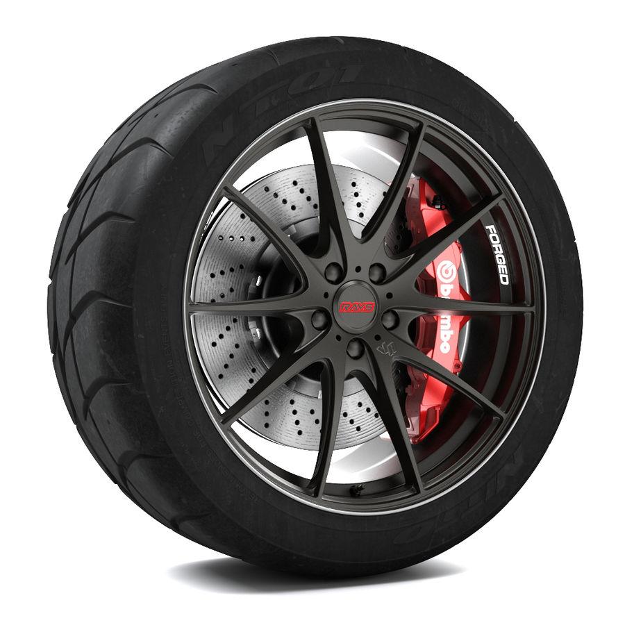 Volk Racing G25 royalty-free 3d model - Preview no. 1