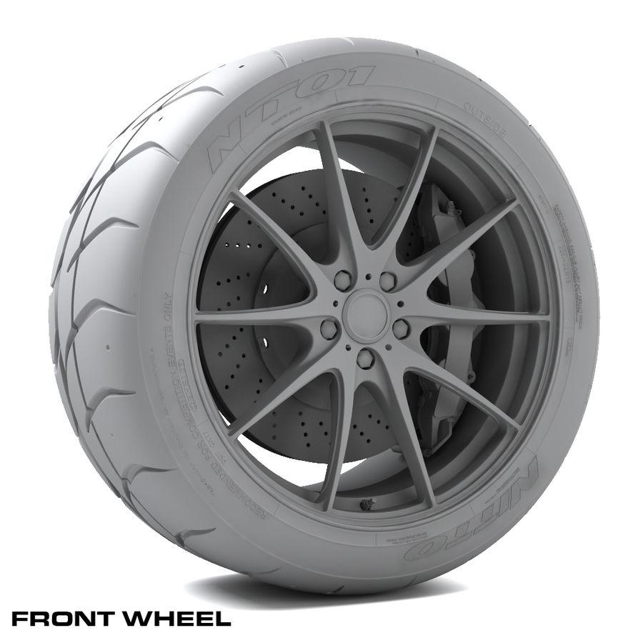 Volk Racing G25 royalty-free 3d model - Preview no. 8