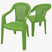 Monobloc Chair 3 3d model