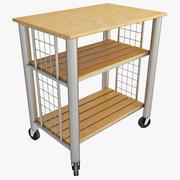 Rolling Kitchen Cart 3d model