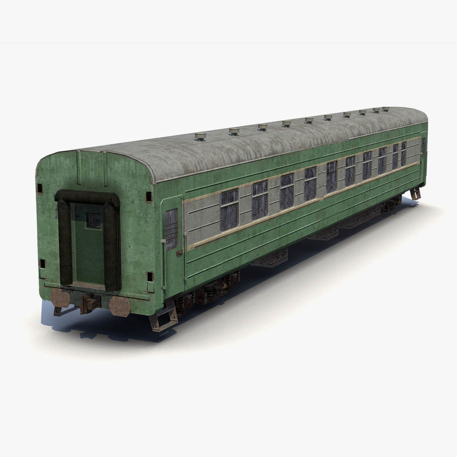 Passenger car royalty-free 3d model - Preview no. 2