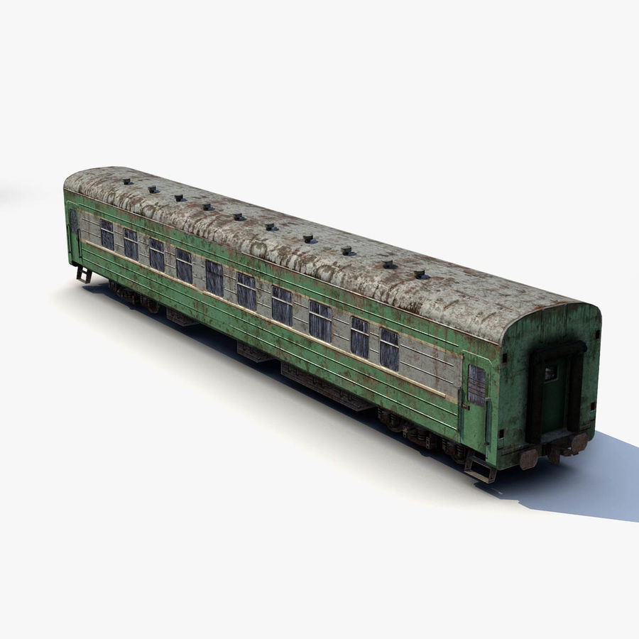 Passenger car royalty-free 3d model - Preview no. 6