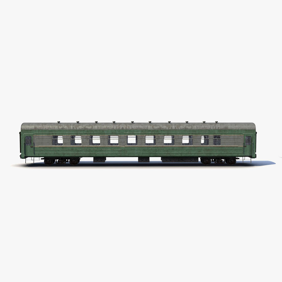 Passenger car royalty-free 3d model - Preview no. 4