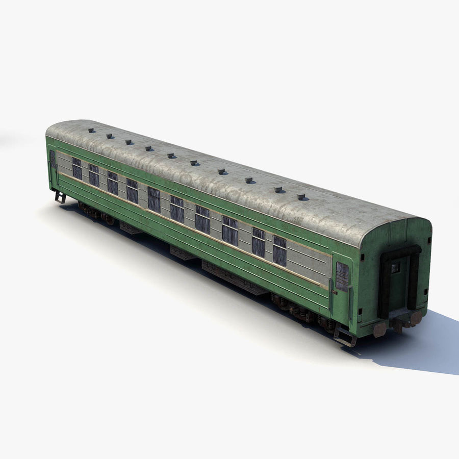 Passenger car royalty-free 3d model - Preview no. 5