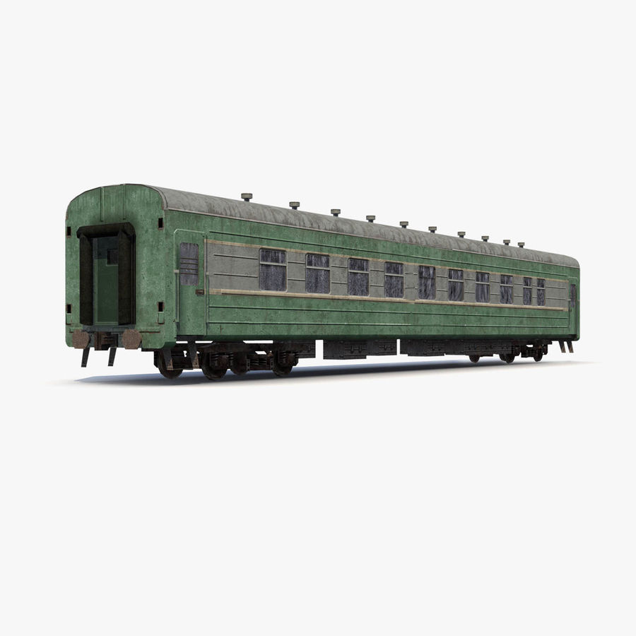 Passenger car royalty-free 3d model - Preview no. 7